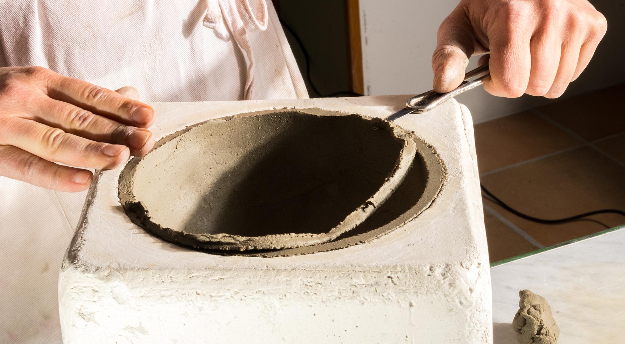 greta filippini oca ceramica artistica ferrara scultura lavorazioni