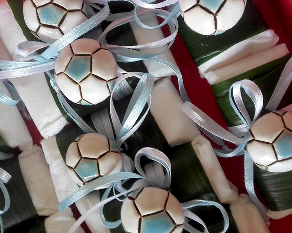 greta filippini oca ceramica artistica ferrara bomboniere spal regali personalizzati