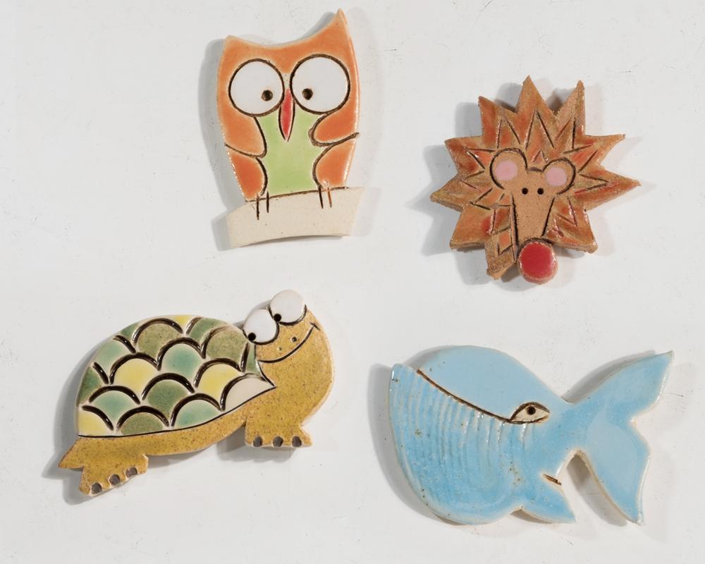 umidificatori tacchino diffusore gufo presepe gufo greta filippini oca ceramica artistica ferrara bomboniere regali personalizzati calamite animaletti
