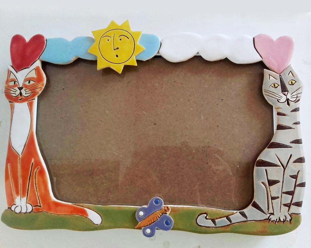 cornice gatti diffusore gufo presepe gufo greta filippini oca ceramica artistica ferrara bomboniere regali personalizzati