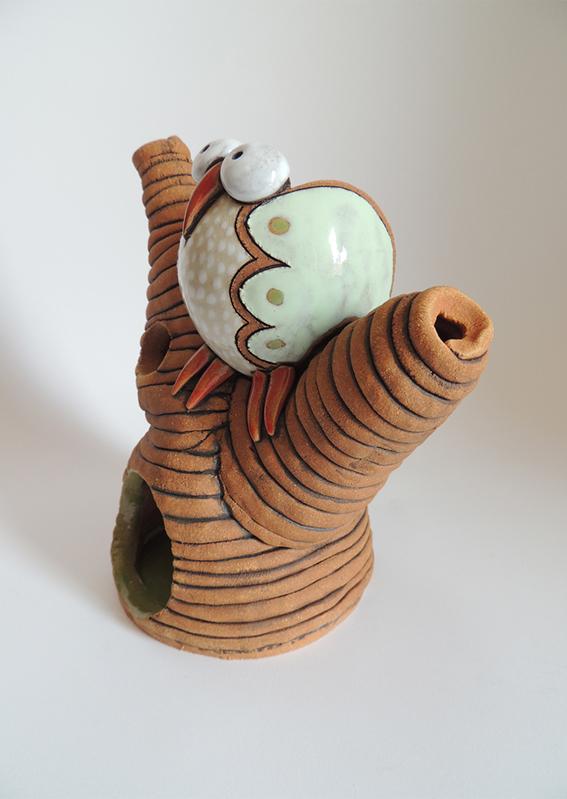 diffusore gufo presepe gufo greta filippini oca ceramica artistica ferrara bomboniere regali personalizzati diffusore
