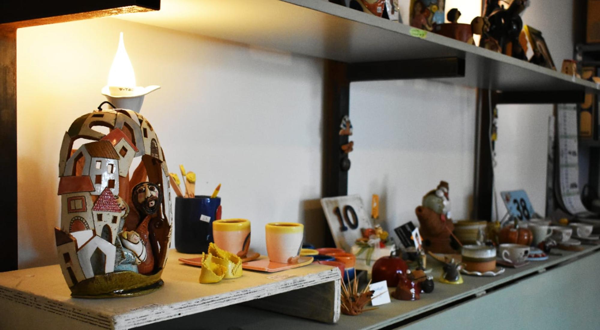 esposizione greta filippini oca ceramica artistica ferrara