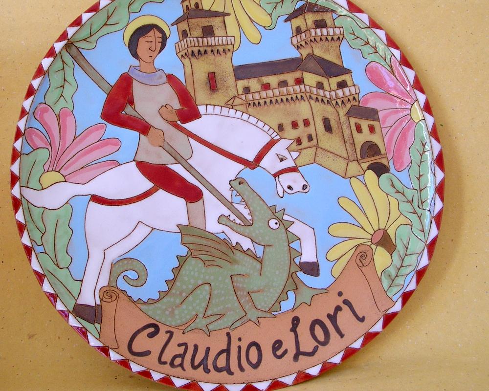 greta filippini oca ceramica artistica ferrara piatti