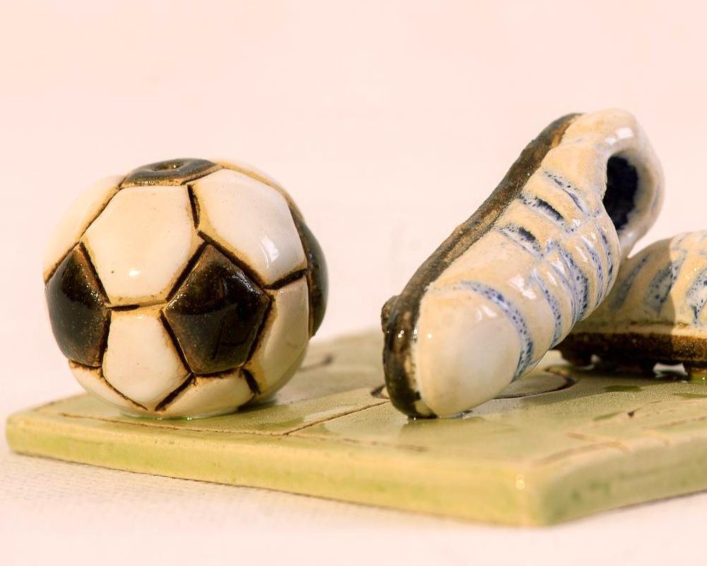 diffusore gufo presepe gufo greta filippini oca ceramica artistica ferrara bomboniere regali personalizzati spal calcio