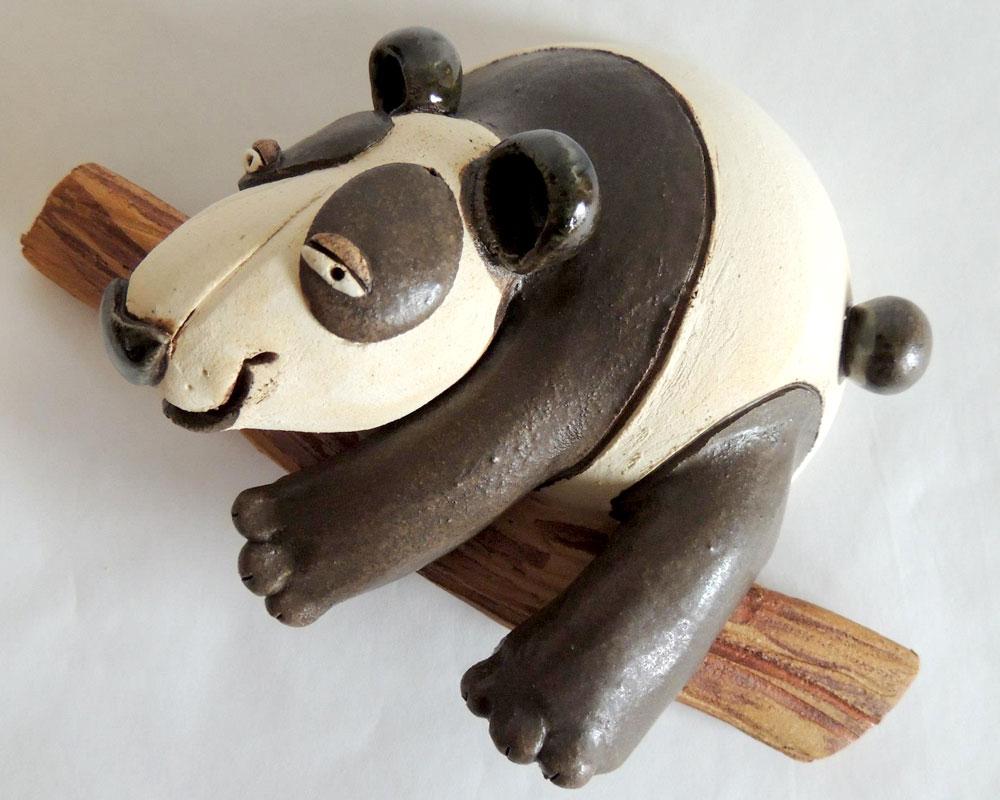 panda greta filippini oca ceramica artistica ferrara